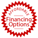Affordable Financing Options Stickers