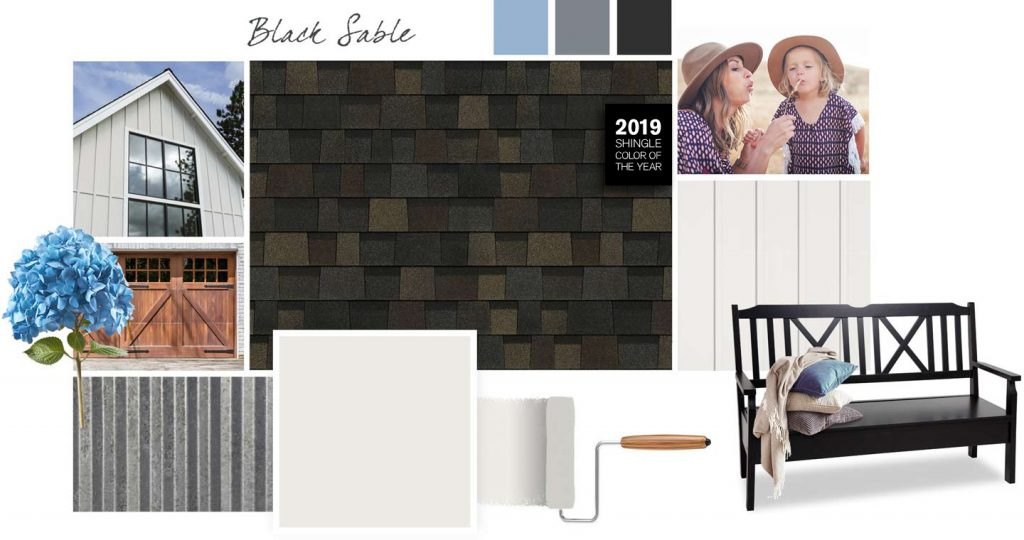 Black Sable Designs Porcelain Shingles - S and S