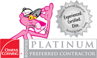 Platinum Preferred Roofing Contractor S and S
